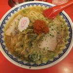 赤湯ラーメン 龍上海 赤湯本店 - 赤湯からみそラーメン