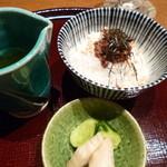 鉄板懐石 宴 - 2013.08 牛しぐれごはん