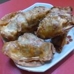 台湾名物屋台料理 潘さんの店 - 2013.08 揚げ餃子、、コレも5月ですね:爆