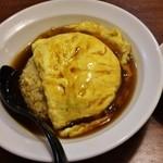 20589785 - 天津炒飯(750円)スープ付き