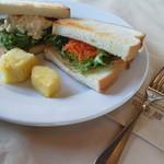 トーストサンドイッチ(モーニングサービス)
