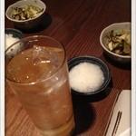 串焼処 鶏太 - ハイボールとお通し 2013.8
