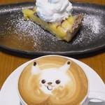 夢厨房 ゆめきっちん - Sweets set(レモンタルト、キャラメルラテ)620円