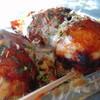 おやつ村 - 料理写真:ぼくちゃんたこ焼(たこ焼き3個入)