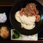 瀬戸内製麺710 - 肉生醤油(H25.8.11)