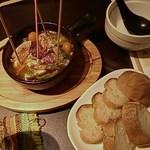 20594407 - うま辛カーニバル・野菜と海老のアヒージョ