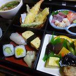 ひょうたん - すずらん膳 麺セット 1,600円