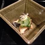 お宿 木の葉 - 鰻と茗荷の酢の物☆