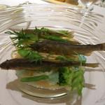 リストランテ ASO - 稚鮎のパスタ