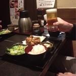 宮崎地鶏炭火焼 車 - ランチ会