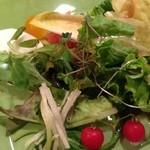 キチ・キチ - 目にも美しいサラダ様にはマイクロトマトが可愛く♪