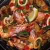 スパニッシュライツ - 料理写真:魚介のパエリア