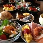 お宿 木の葉 - 2013/08/13☆朝食バイキング