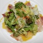 スパニッシュライツ - 鯛のカルパッチョ