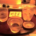 そば処 長岡小嶋屋 - お酒