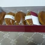 元町 香炉庵  - 檸檬どら焼きと黒糖どら焼きセット
