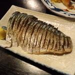 鳥吉 - 炙りシメサバ(2013.7月)