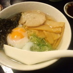 鳥吉 - 追加注文のラーメン400円(2013.7月)