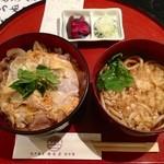 香名屋 - 開花丼セット(850円)