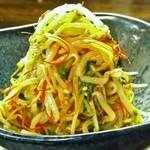 くし家串猿 - 豆苗ナムル