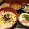 酒寮 米しずく - 料理写真:ネギトロ山掛け丼\750
