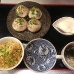 上海モンナリーサ - 焼き小籠包ランチ 750円