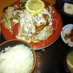 20606630 - 焼き肉サラダ定食900円