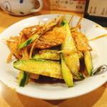 陳麻家 - 豚肉の辛しニンニクソースかけ