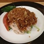 陸っぱり - 棒棒鶏(600円)