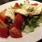 20612173 - トマトとモッツァレラのサラダ
