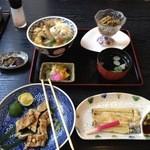 山七商店 - うなぎ柳川丼、白焼ハーフ、うなぎ一夜干し、うなぎ肝煮