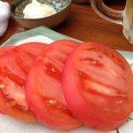 夕日家 ホルモン - 冷やしトマト