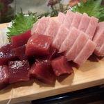 かわなみ鮨 - 大トロと赤身漬け