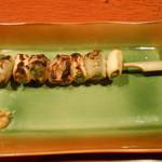 とよ福 - 串1本目 豚ナンコツ