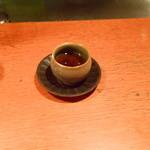 とよ福 - 食後のお茶