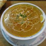 インド・パキスタン料理&カフェ ナイル - カシミールセットのチキンカレー