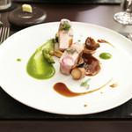 リベルタス - 肉料理:鹿児島県産 茶美豚ロースト '13 8月上旬
