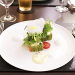 リベルタス - 前菜:15種の有機野菜の菜園 リベルタス風 '13 8月上旬