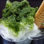 20617106 - 抹茶小倉入り氷400円