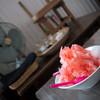 analog - 料理写真:日光天然水のカキ氷(いちご) 大盛り