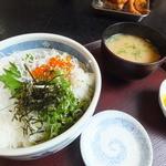 どんむす - 釜揚げしらす丼¥980