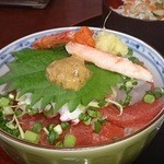 灯しび - 料理写真:ミニ灯丼