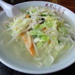 毛呂山食堂 - 2013年8月再訪 タンメン