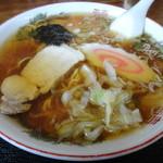 毛呂山食堂 - 2013年8月再訪 ラーメン