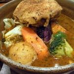 ヴァサラロード - 骨なしチキン&野菜(1,100円)