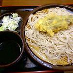 ゆで太郎 - もり+茄子 2013/06