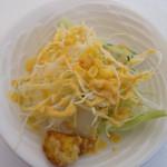 カマナ - ポテト付きのサラダ
