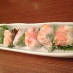 FU DINING - 海老の生春巻き 840円