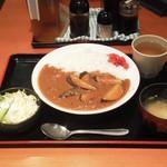 市川食堂 - ナスカレー¥500