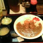 市川食堂 - クリームコロッケカレー¥500